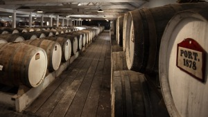Seppeltsfield's 1878 Centennial Cellar, where the flagship 100 Year Old Tawny is housed.