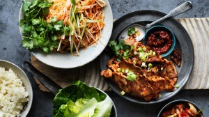 Neil Perry's spicy marinated pork.