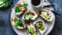 Oysters have evolved to spend time out of the water.