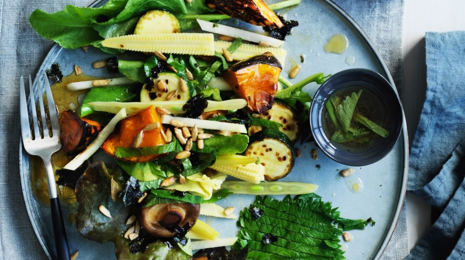 Andrew McConnell's adaptable vegetable salad.