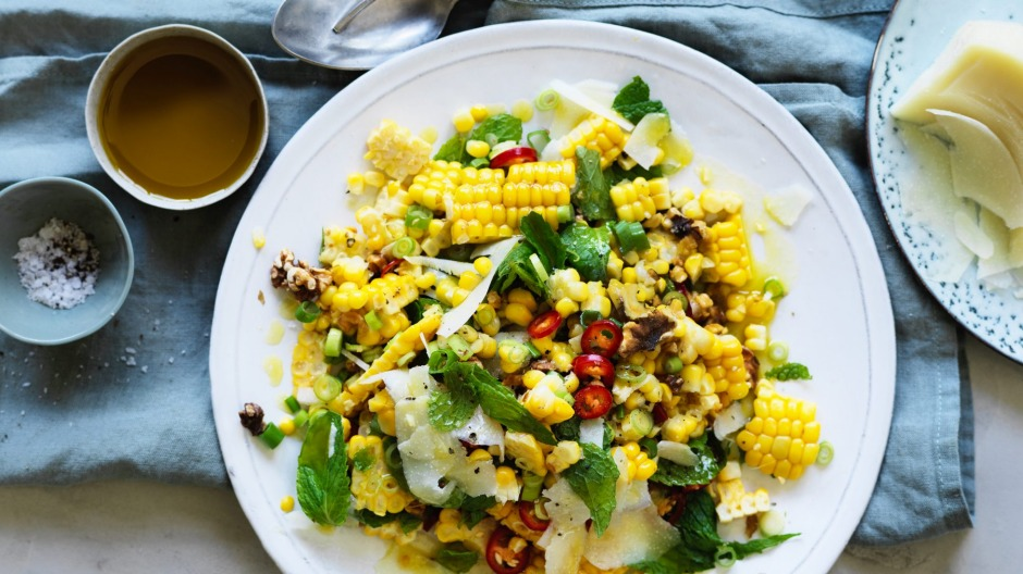 Danielle Alvarez's corn salad is on the menu.
