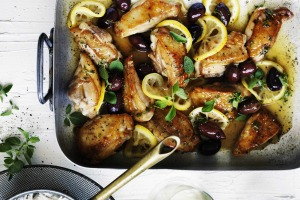 Neil Perry's braised chicken with lemon