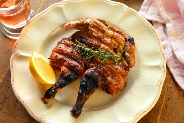 You can also use a brick to weigh down poultry for a traditional Tuscan BBQ chicken <a ...