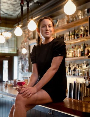 Shay Chamberlain, bartender at Melbourne's Black Pearl.