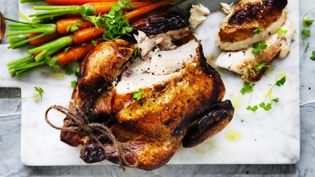 Roast chicken: Just don't describe it as succulent.