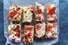 Katrina Meynink's rose, white chocolate, Turkish delight and pink peppercorn rocky road <a ...