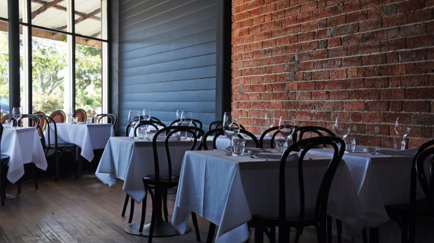 The Bistro Terroir dining room.