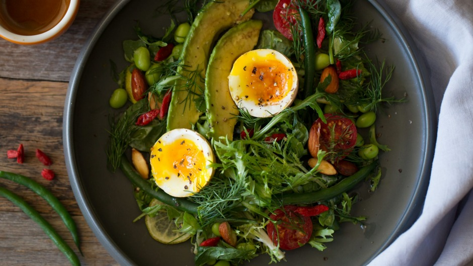 Jill Dupleix's breakfast salad.