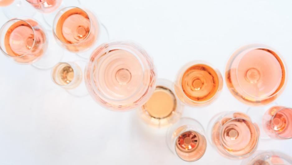 Provencal-style rosés are typified by pale colour.