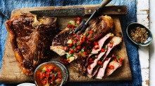 Small serves of protein may be better for older people than eating a whole T-bone in one sitting.