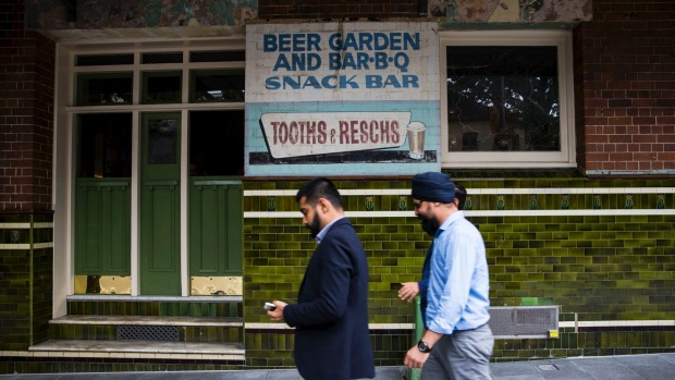 Many locals knew the Terminus as 'that abandoned pub in Pyrmont covered in ivy with the old Reschs sign'.