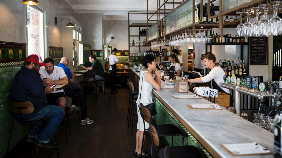 GOOD FOOD. 14th of March 2018. The recently re-opened Terminus Hotel in Pyrmont, Sydney. Story: Callan Boys. Photo: ...