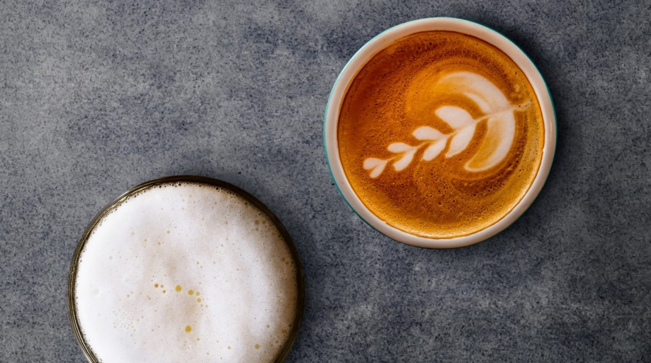 Two Melbourne obsessions: Craft beer and coffee.
