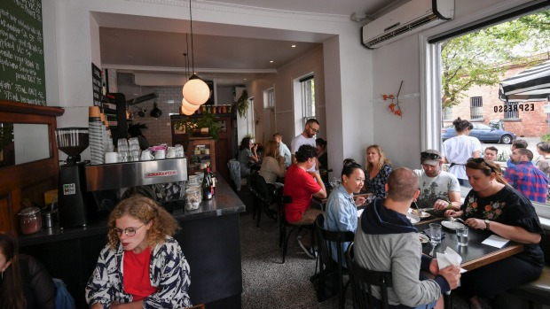 Neighbourhood gem: Corner cafe and wine bar Napier Quarter.