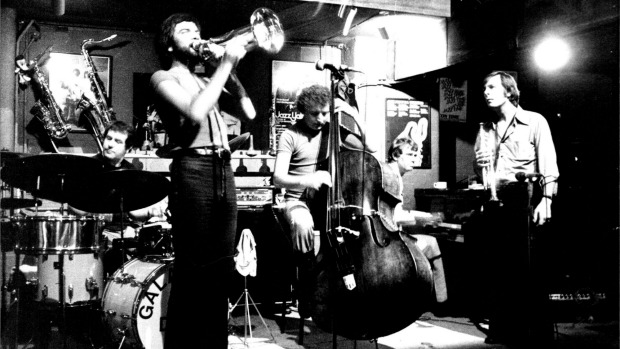 Jazz group Galapagos Duck playing at The Basement in 1978.