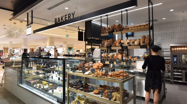 Malvern central david jones food store goes directly to the source the bakery section of the new david jones food store at malvern central negle Images