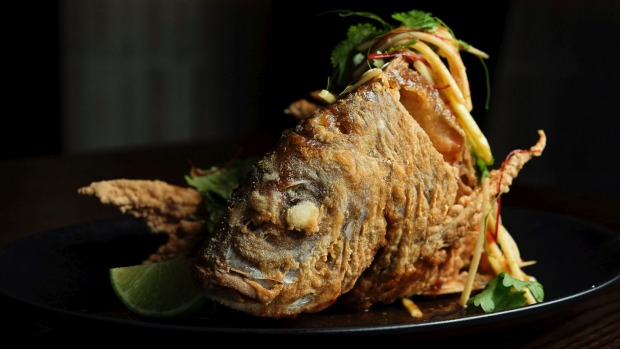 Nu bambu review hurlstone park review 2018 good food for Deep fried whole fish