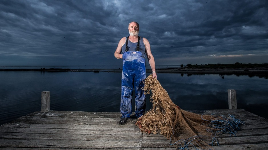 Phil McAdam is a third generation commercial fisherman fishing in Port Phillip Bay.
