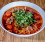 Big flavours: Khao poon nam seen - noodle soup with brisket.