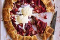 Freestyle with different fruits in this free-form tart.