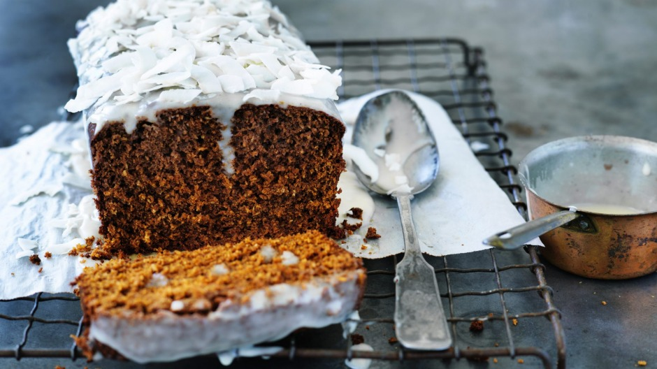 Good Cake Icing Recipes: Molasses And Coconut Rum Cake With Vanilla And Coconut