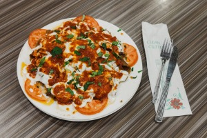 Smoke signals: The Iskender plate.