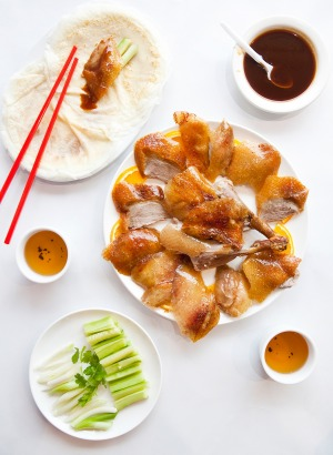 No trip to Beijing is complete without Peking duck pancakes.