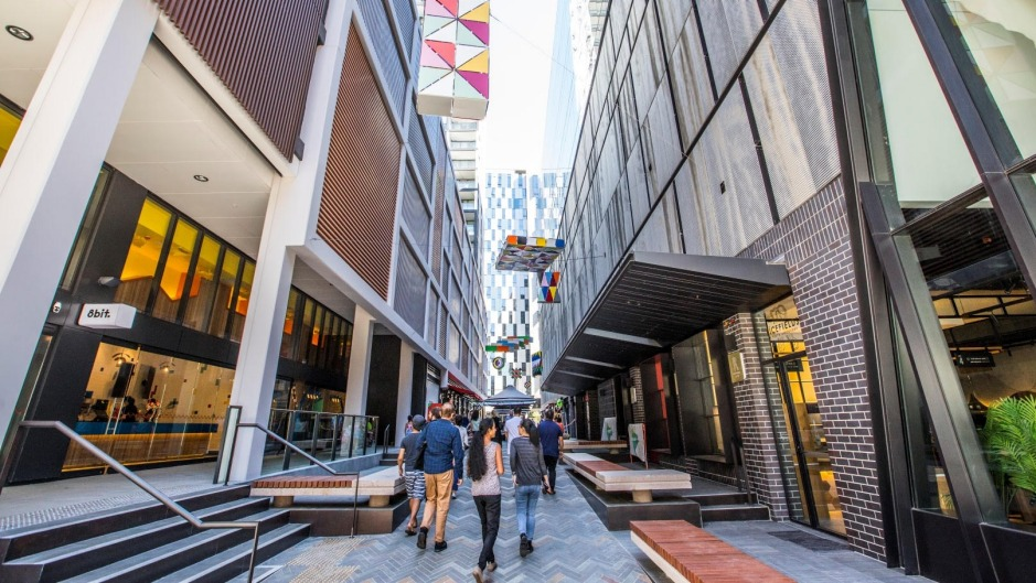 Steam Mill Lane in Darling Square is the city's hottest new eating strip.