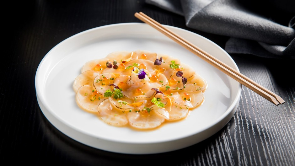 Scallop carpaccio makes a comeback.