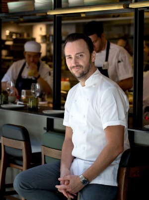 Celebrity chef Jason Atherton in the Sydney restaurant.