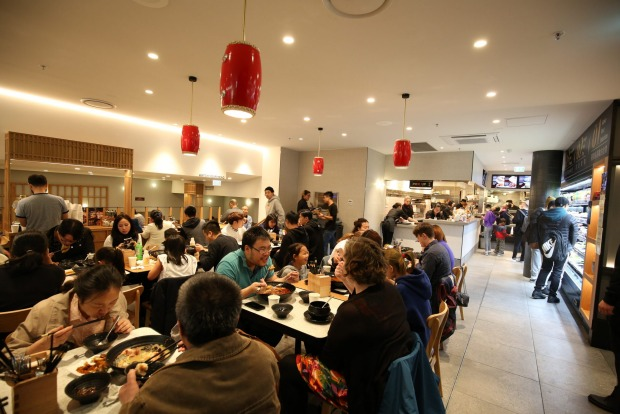 Build your own hotpot at Little Sichuan in Box Hill.