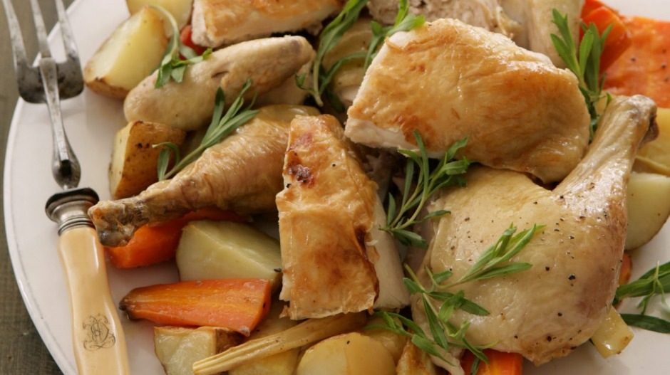 Stephanie Alexanders Roast Chicken For Holly And Lisa Recipe