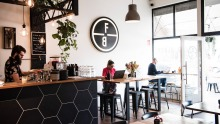 Field Black cafe in Northcote.