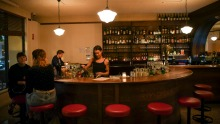 The louche life: Late-night pool and pizza at Bar Romantica in Brunswick East.