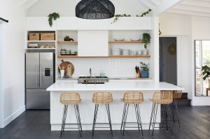 Here are six key trends and functional tips to get your kitchen looking its finest for 2018.