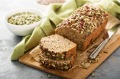Nutrient-dense flours can add a nutty flavour and wonderful gritty texture to a cake.