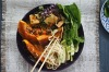 12. Cheat's noodle soups including this kaffir lime pumpkin, fried tofu and coconut laksa <a ...