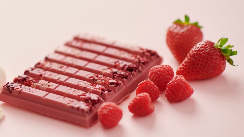 Ruby Kit Kats are sweetening chocolate's appeal to sugar phobic consumers.