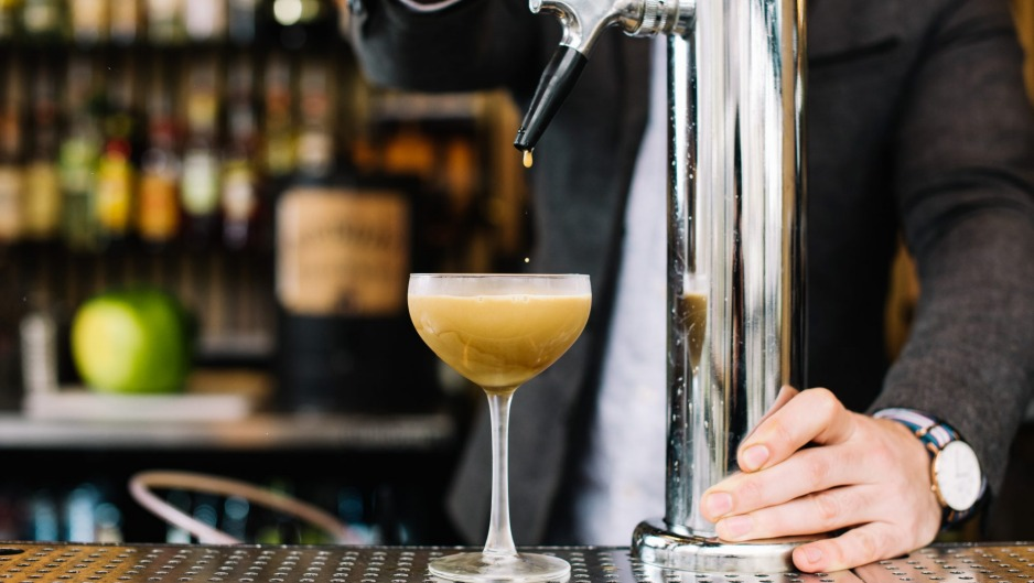 Move over Guinness, there's a new tall, dark drink on tap (pictured at Arbory in Melbourne).