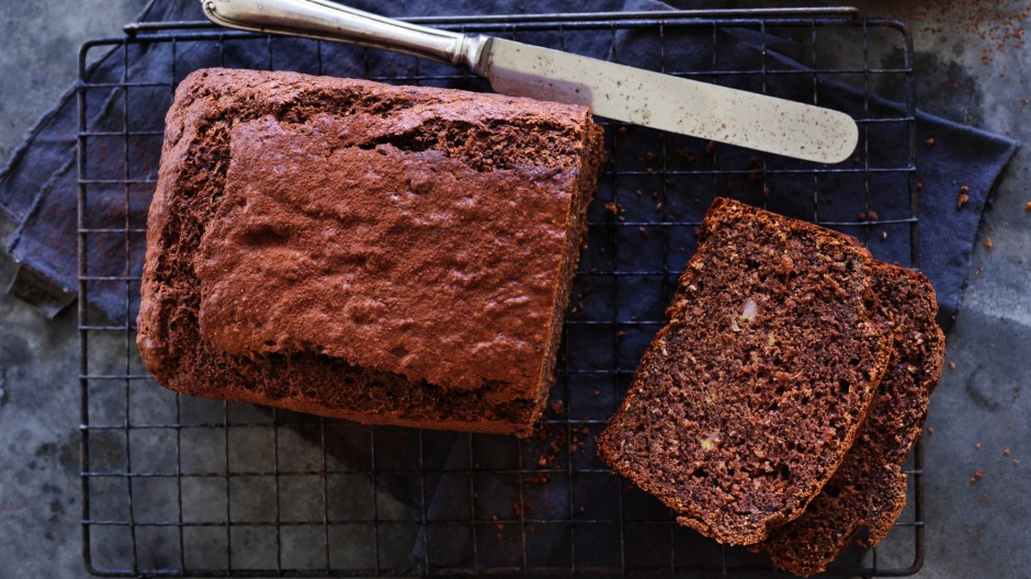 Chocolate and coconut banana bread.