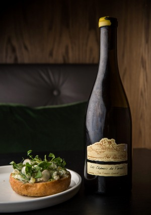 Fish sandwiches and Ganevat are the order of the day.