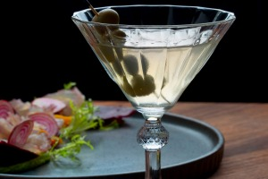 Dirty martini.