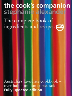 The second edition of The Cook's Companion by Stephanie Alexander.