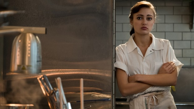English actress Ella Purnell stars as Tess in the six-part series SweetBitter on Stan.