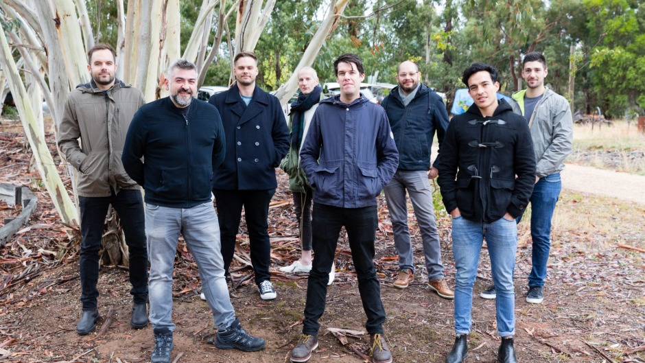 The MoVida team in Victoria's High Country.