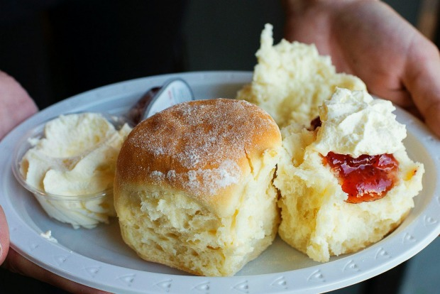The Country Women's Association's scone and sponge <a ...