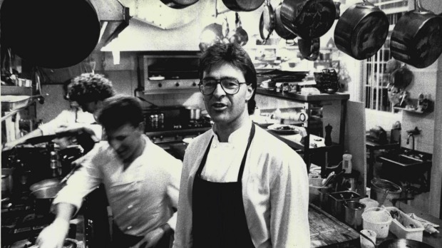 Golden Plate award winner Peter Doyle at his restaurant Le Trianon in 1987.
