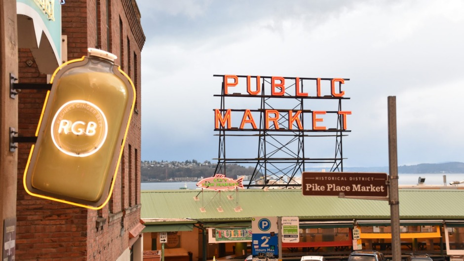 Pike Place Market is one of the oldest continuously operated public farmers' markets in the US.