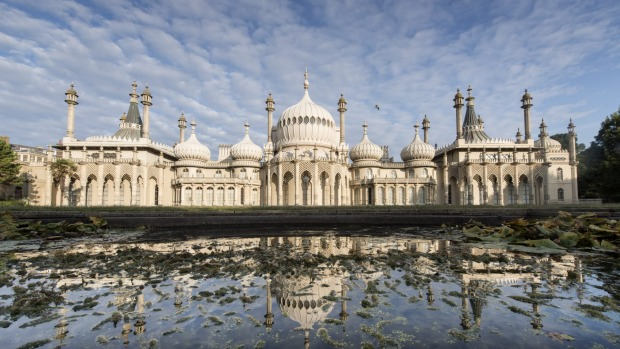 The Royal Pavilion – an oriental fantasy of leering dragons and Moorish domes – first put Brighton on the map.