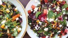 Colourful summer salads from Food for Friends.